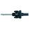 VIKING Holder M35PS til hulsave Ø32-250 mm 10 mm skaft med kort HSS forbor 71 M35PS miniature
