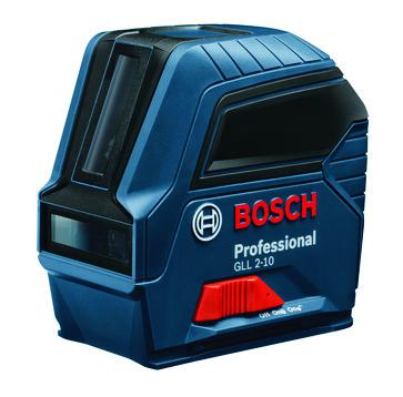 Blue Bosch GLL 2-10 Professional cross line laser 0601063L00