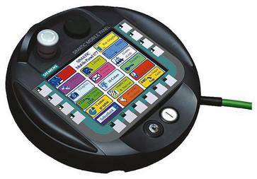 >>Produkt under udfasning siden: 01.10.16<<  Mobile panel 177 med knap integreret 6AV6645-0AA01-0AX0