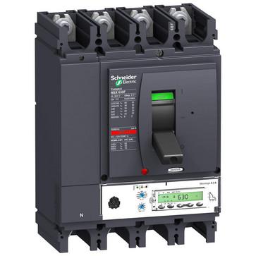 Maksimalafbryder NSX630N+Mic5.3A/630 4P LV432900