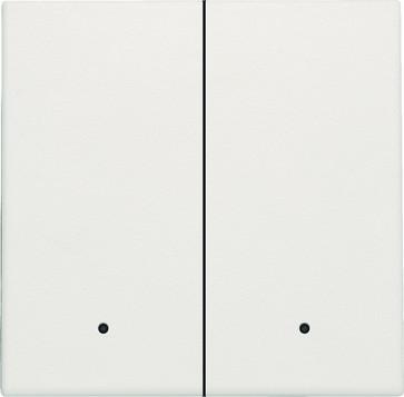 Tangent til smart 2-tryk med linse, white 101-32004