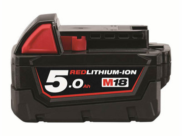 Milwaukee 18V Batteri LI-ION B5 5,0AH 4932430483