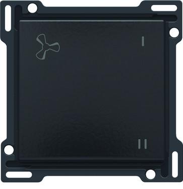 Tangent med ventilations symbol, piano black coated 200-61106
