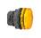 Harmony signallampehoved i plast for LED med riflet linse til udendørs brug i orange farve ZB5AV053S miniature