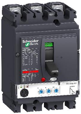 Maksimalafbryder NSX100N+MIC2.2/100 3P LV429795