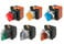 SelectorA22NS 22 dia., 2 position, IKKE-Oplyste, bezel metal,Auto reset på venstre, farve rød, 1NO1NC A22NS-2RL-NRA-G102-NN 660174 miniature