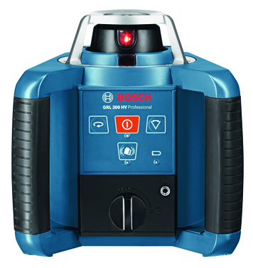 Blå Bosch Rotationslaser GRL 300 HV M/WM4/LR1/RC1 0601061501