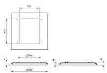 Philips CoreLine Påbyg Interact Ready SM134V LED 3700lm/840 60x60 OC/UGR<19