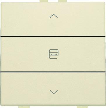 Motortryk enkelt, cream, NHC 100-51033