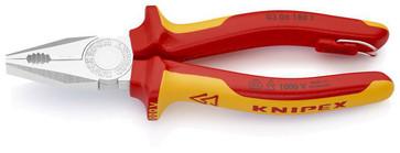Knipex kombinationstang forkromet 180 mm 03 06 180 T
