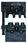 MOBILE-bakker ORB0560 ABIKO f/ uisolerede spadestik 0,5-6 mm² 4301-314600 miniature