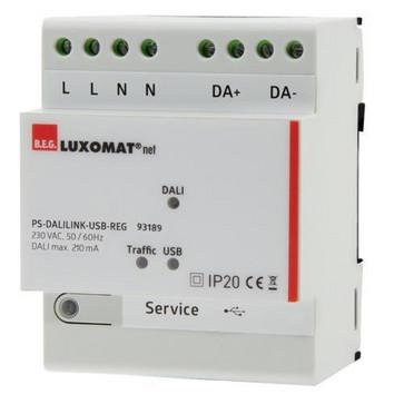 Strømforsyning B.E.G. PS-DALILINK-USB-REG 93189