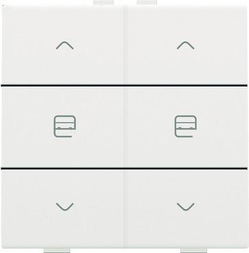 Motortryk dobbelt, white coated, NHC 154-51036