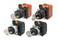 SelectorA22NK 22 dia., Key type S, 2 position, bezel metal,Auto reset på venstre, slip position tilbage, 1NO1NC A22NK-2RL-01BA-G102 659857 miniature