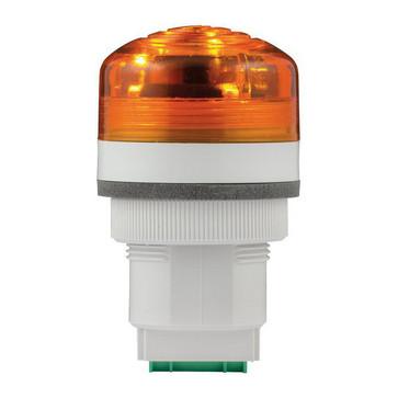 Advarselslampe med LED og multifunktion 240V  Orange, P40, A, LED, 240 91202
