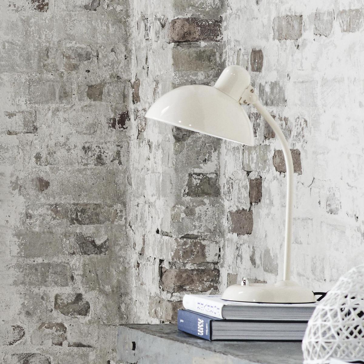 Kaiser idell 6556-T White Bordlampe