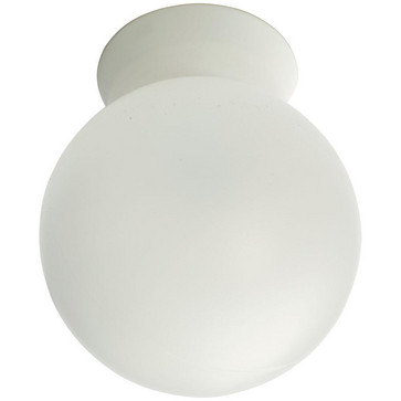 Rondo Mat-Hvid 10W LED E27 2700K