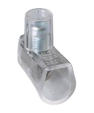 Samlemuffe klar 2,5mm² enkelt i pakker á 100 styk Lige kærv HE25-1