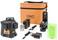 Geo-Fennel multiline laser Geo6x green kit w. softbag GF-F534520 miniature
