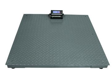 Platformsvægt 3000 kg / inddeling 0,5 kg med 1200x1200 mm vejeplade 18562500