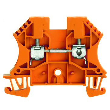 Gennemgangsklemme skrue/skrue orange WDU 4 1036760000