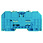 Kabelskoklemme WFF 35 wemid blå 102838 1028380000 miniature