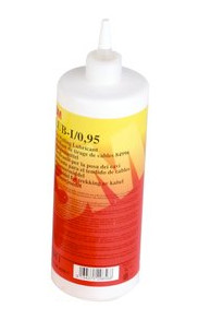 Scotch® Wire Lub 0,95. Kabelsmøremiddel uden silikone 0.95 l. i flaske med doseringstud. 7100047866