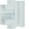 T-stykke plast for BR65170 RAL 7035 BR6517087035 miniature