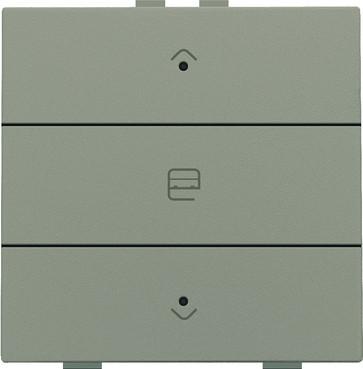 Motortryk enkelt med LED, bronze, NHC 123-52033