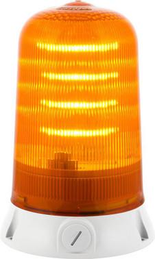 Roterende lampe med LED og multifunktion 240V Orange, 200R,LED,240 90082