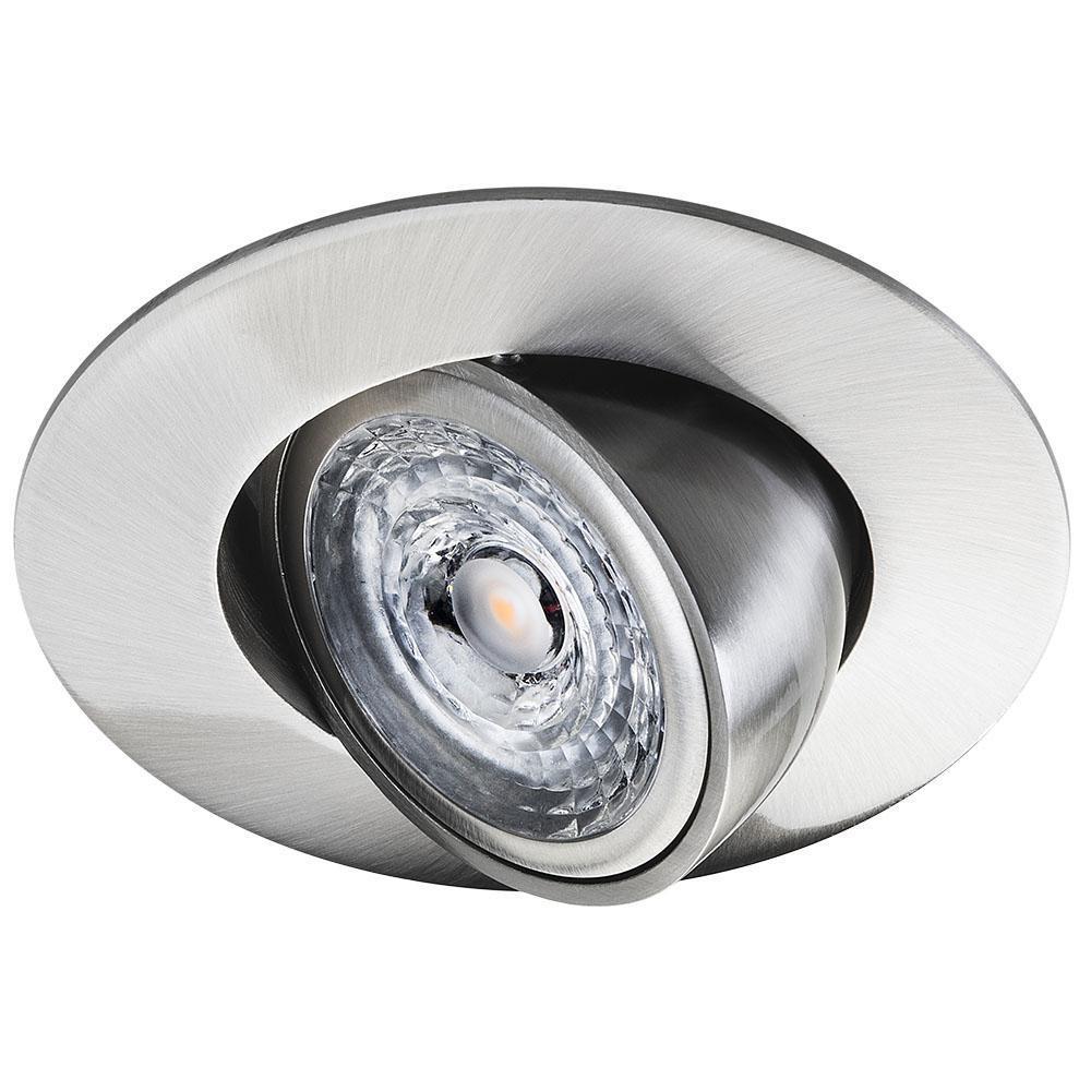 Jupiter TEK Børstet stål 6W LED 2700K