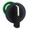 Harmony flush drejegreb i plast med et langt sort greb med 2 positioner med fjeder-retur fra H-til-V ZB5FJ4 miniature