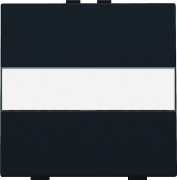 Tangent med tekstfelt til 2-tryk, black coated 161-00006