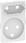 LK FUGA antibakteriel afdækning for kombi klasse 1 og 2 stikkontakt 1½ modul, hvid 580D6822 miniature