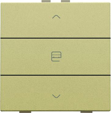 Motortryk enkelt, gold coated, NHC 221-51033
