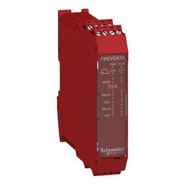 "XPSMCM udvidelsesmodul 4x2 SDO ""relæ"" XPSMCMRO0004"