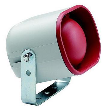 Elektronisk sirene 12/24 V AC/DC, 326.6.12 50424