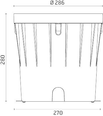 Installationsboks for Naboo 290