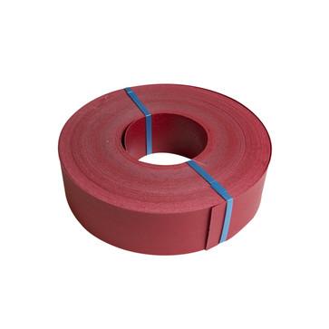 Kabelafdækning rød 100x2,0mm D-mærke rulle 50m FT-KAFD-100X2,0-D-RØD-RL50