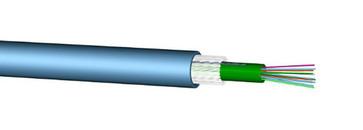 Fiberkabel Unitube 24XOS2 LSZH kappe 60073062 60073062
