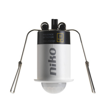 Tilstedeværelsessensor mini, 360°, Niko Home Control, 9 m 550-20220