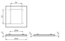 Philips CoreLine Påbyg Interact Ready SM134V LED 3700lm/840 60x60 Nødbelysning NOC/UGR>19