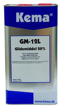 Kema glidemiddel GM-12L 8072 5L 8072