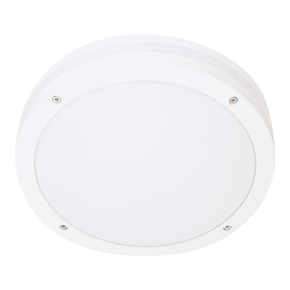 Evje Mat-Hvid 28W 2000 LED 3000K m/Sensor