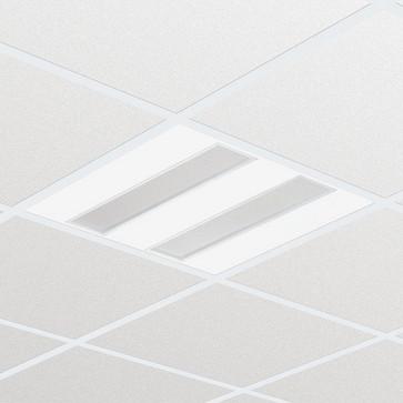 Philips FlexBlend Indbyg RC340B 3600lm/830 SpaceWise 60x60 Synlig T-skinne PCS-optik