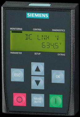 G120P-BOP-2  Basic Operator Panel 6SL3255-6AA00-4CA0