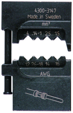 "MOBILE-bakker OPB0140 ABIKO f/ ""global power"" kontakter 4301-314700"