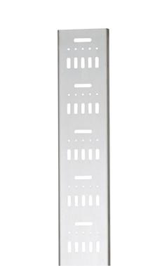 Montageprofil 123 mm 2 modul rustfri 6676-33