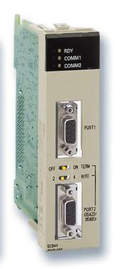 Seriel kommunikation bord, 1xRS-232C-port, 1xRS422/485-port, understøtter protokollenmAkro backup fra hukommelseskortet CS1W-SCB41-V1 296511