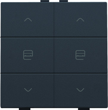 Motortryk dobbelt, anthracite, NHC 122-51036